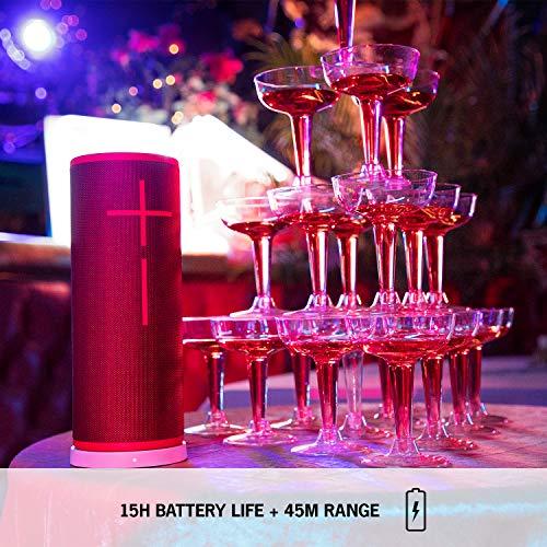 Ultimate Ears Boom 3 Enceinte Portable Bluetooth sans Fil, Basses Profondes, Etanche, Flottante, Connexion Multiple, Batterie 15h - Noire