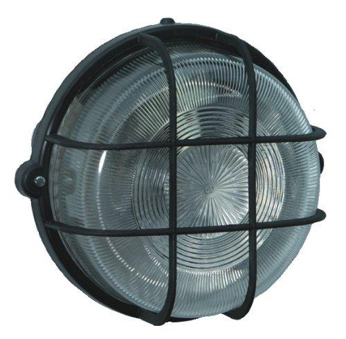 Brennenstuhl ronde lamp Color/lamp voor binnen en buiten (spatwaterdichte lamp voor plafond- en wandmontage, IP44) kleur: zwart