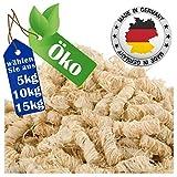 REDPRICE® Kamin-Anzünder Grill-Anzünder Anzündwolle (5KG) 100% ÖKO Holz-Wolle mit Natur-Wachs Brennstoffe Kamin-Ofen Umweltfreundlich Sicher Holzanzünder Feueranzünder