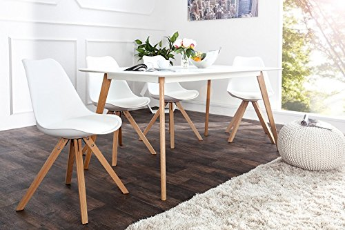 DuNord Design Stuhl New Stockholm Retro Design (Weiss)