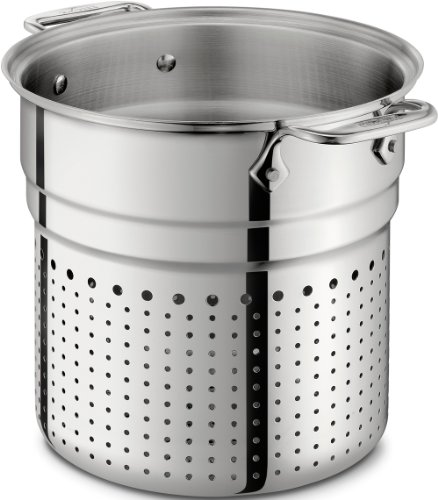 all clad stainless pasta strainer - 7