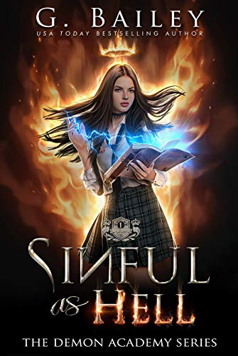 Sinful As Hell: A Reverse Harem Bully Romance (The Demon Academy Book 1) (English Edition)