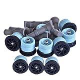10. APT Pop Up Sprinkler Heads Replacement nozzles, 6 feet wetting Radius, Filter Included, 10 pcs, Hunter, Rainbird, Orbit,