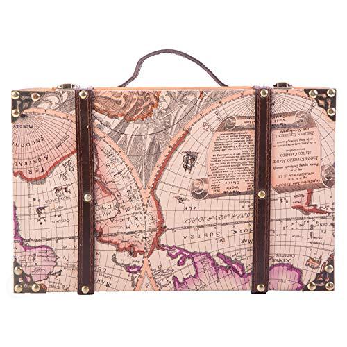 Vintiquewise con Cartina del Mondo Antico della...