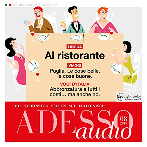 ADESSO audio - Al ristorante. 8/2015 Titelbild