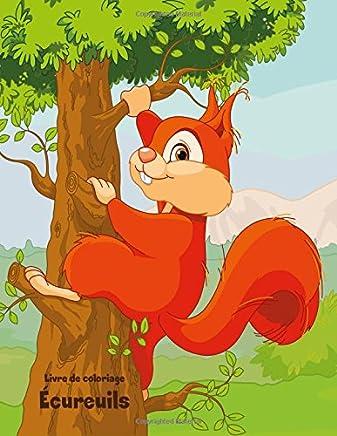 Livre De Coloriage Écureuils: 1-2