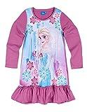 La Reine des Neiges Chemise de Nuit Manches Longues Enfant Violet de 3 à 10ans -...