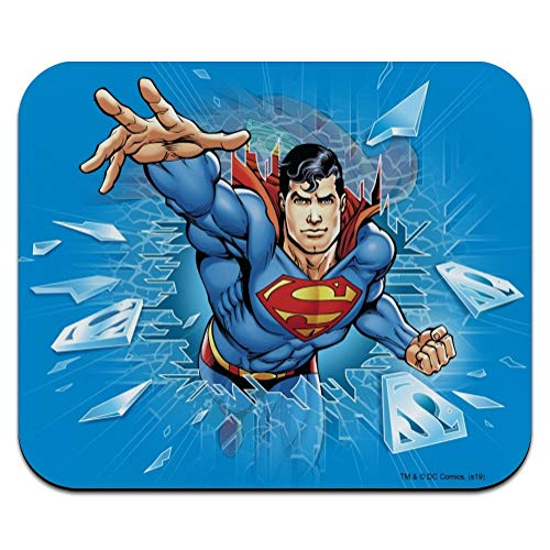 Superman Breaking The Ice Low Profile Thin Mouse Pad Mousepad