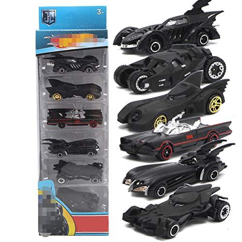 Fangteke Auto Spielzeug Set 6 Stück Auto 1:64 Legierung Mini Modell Auto LKW Kinder Geburtstag Geschenk Geschenk für Kinder Jungen