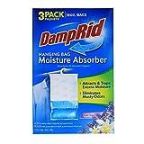 DampRid Lavender Vanilla Hanging Bag Moisture Absorber for Closets - Odor Eliminator - 3 pack (16oz. ea.);...