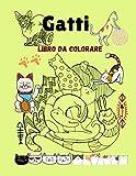 gatti: libro da colorare i 42 pagine da colorare con simpatici e amorevoli gattini i regalo per tutti gli amanti dei gatti i per bambini e adulti i formato grande