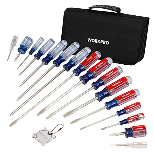 WORKPRO 17-Piece Screwdriver Set review