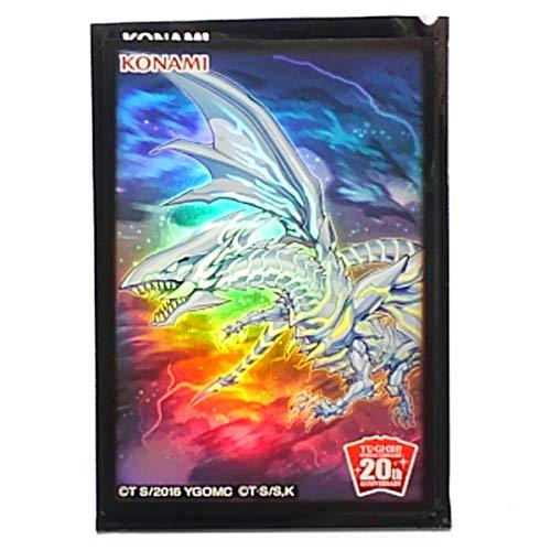 在庫4 特製カードスリーブ 10枚入り 青眼の亜白龍 遊戯王 20th SPECIAL 特製プロテクター Vol.1 ブルーアイズ オルタナティブ 海馬デッキに