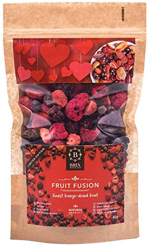 BRIX, GROWN FOR FLAVOUR Früchtfusion - Freeze Mixta Frutas secadas 80G