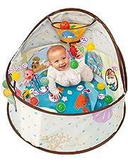 360° 智育嬰兒圓頂 適用年齡6個月以上 益智游戲20種以上 變身球池,長時間玩 小巧收納