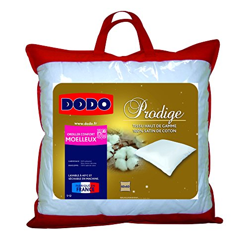 DODO OREILLER PRODIGE - MOELLEUX - 60 x 60 cm