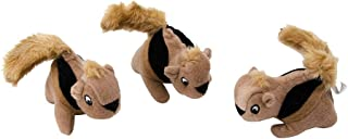 Outward Hound Squeakin' Animals Dog Squeak Toys(Pack of 3)