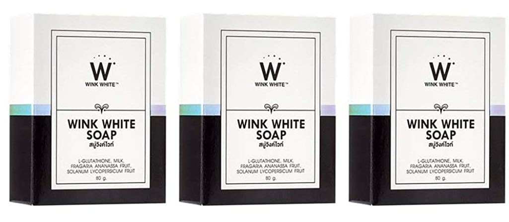ものスペースベーカリーGluta Pure Soap Wink White Whitening Body 80 Grams by Wink White