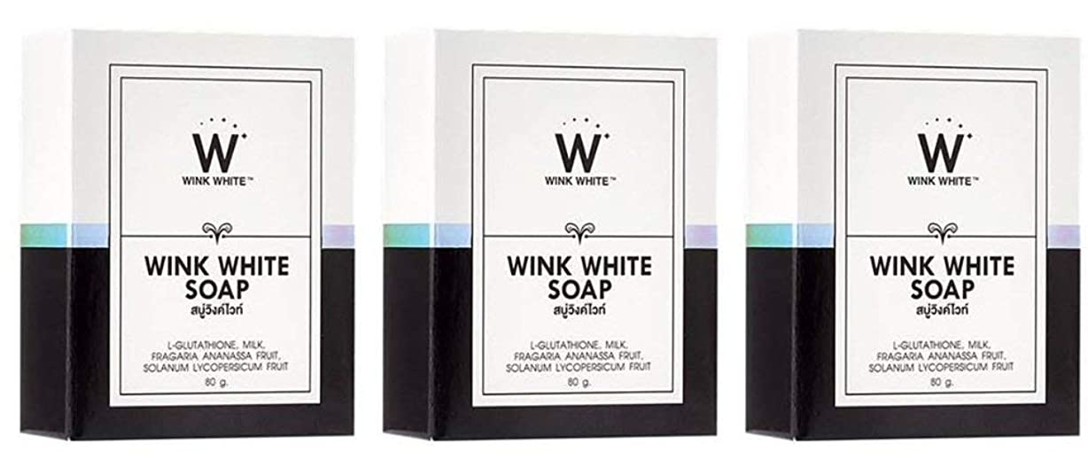 樹皮服決めますGluta Pure Soap Wink White Whitening Body 80 Grams by Wink White
