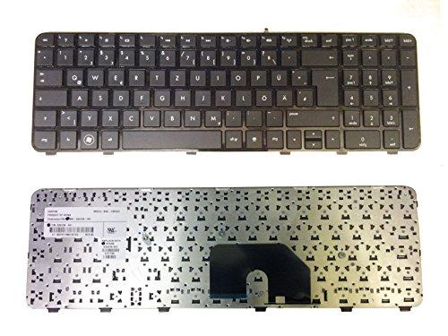 Preisvergleich Produktbild HP Tastatur Pavilion DV6-6000 Deutsch NEU Schwarz mit schwarzem Rahmen