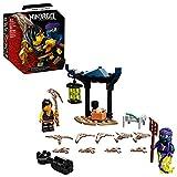 LEGO NINJAGO Epic Battle Set – Cole vs. Ghost Warrior 71733 Ninja Battle Toy Building Kit Featuring Minifigures, New 2021 (51 Pieces)