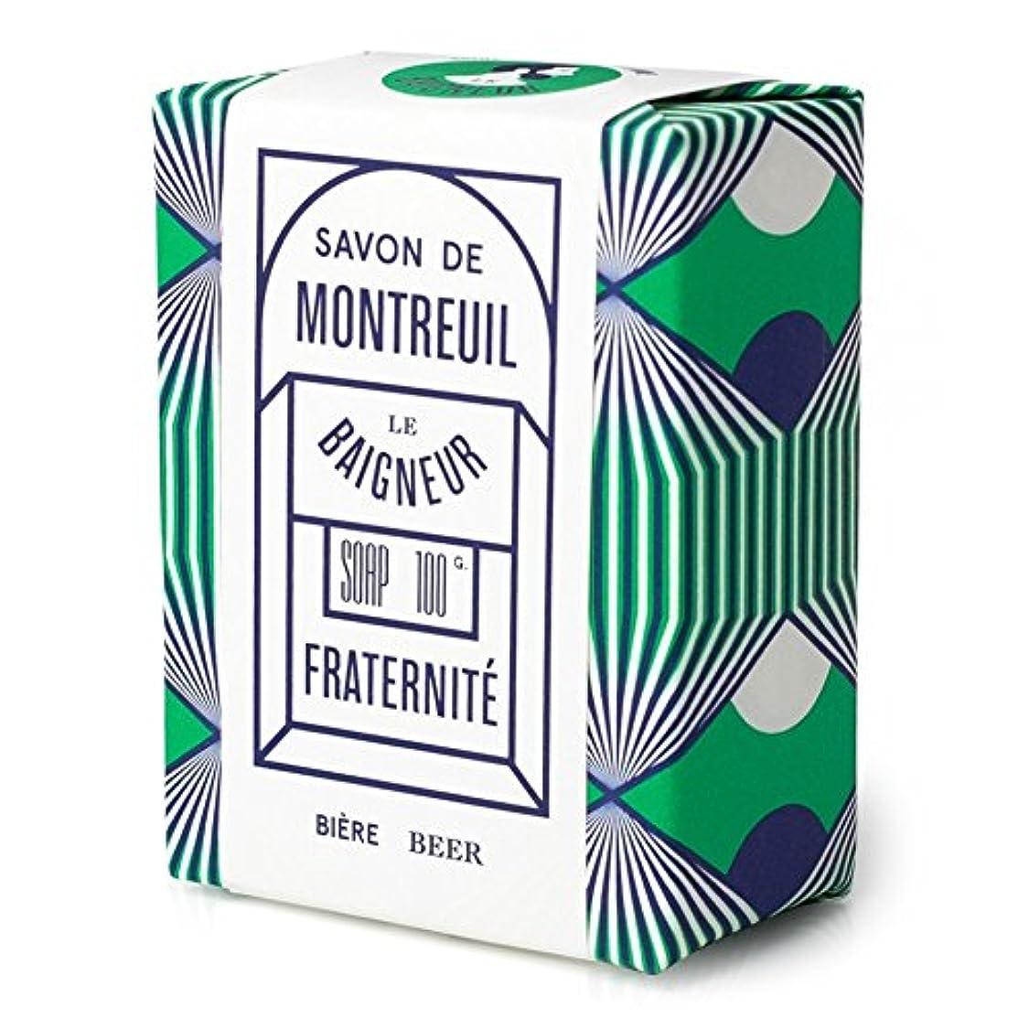縫い目重荷憂鬱ル 石鹸100グラム x4 - Le Baigneur Fraternite Soap 100g (Pack of 4) [並行輸入品]