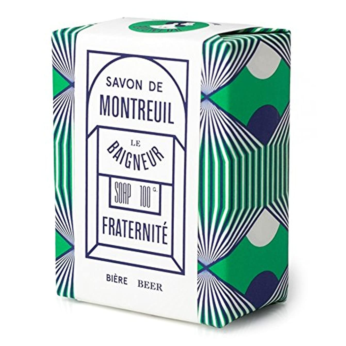 経験的豆含意Le Baigneur Fraternite Soap 100g (Pack of 6) - ル 石鹸100グラム x6 [並行輸入品]