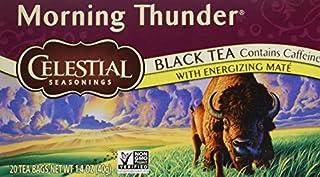Celestial Seasonings Morning Thunder Tea Bags (B002677ISW) | Amazon price tracker / tracking, Amazon price history charts, Amazon price watches, Amazon price drop alerts