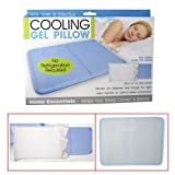1 Pc Cooling Gel Pillow Therapy Insert Sleeping Aid Pad Mat Muscle Relief Sleep
