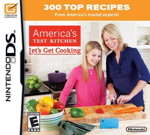 Americas Test Kitchen Let's Get Cooking-Nla