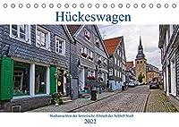 Stadtansichten Hueckeswagen (Tischkalender 2022 DIN A5 quer): Die historische Altstadt der Schloss-Stadt im Oberbergischen Kreis. (Monatskalender, 14 Seiten )