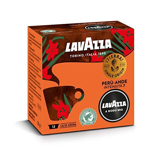 Lavazza Capsule Caffè A Modo Mio ¡Tierra! Perù Ande, 10 Confezioni da 12 Capsule [120 Capsule]