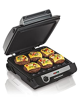 Hamilton Beach MultiGrill Indoor Grill, Griddle & Bacon Cookeren