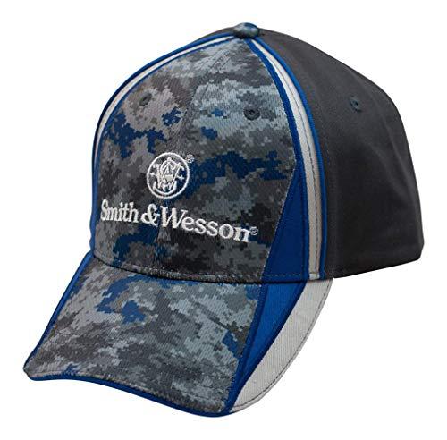 Smith & Wesson S&W Blue & Gray Digi Camo Cap - Officially Licensed