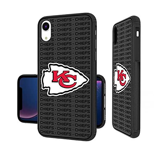 Strategic Printing Kansas City Chiefs iPhone Text Backdrop Design Bump Case