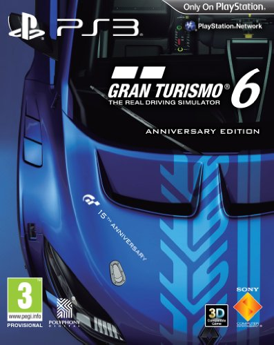 PS3 GRAN TURISMO 6 ANNIVERSARY EDIT