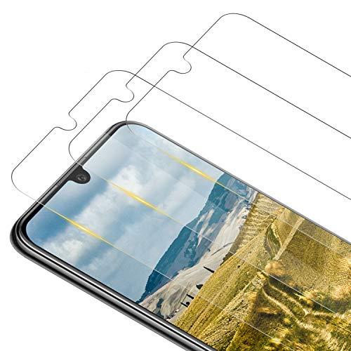 RIIMUHIR [2 pièces] Verre Trempé pour Huawei P30 Pro, Couverture Complète 3D avec Anti-Rayures, sans Bulles, Dureté 9H Film Protection en Écran Protecteur Vitre pour Huawei P30 Pro