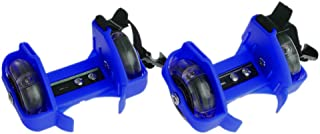 Susada Children Wheel Heel Roller Light Adjustable Skates Kid Falsh Blade Shoe Strap (Blue)