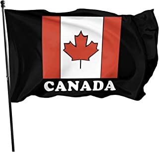 Elaine-Shop Banderas al Aire Libre Bandera de Canadá Bandera de 4 * 6 pies para decoración del hogar Fanático de los Deportes Fútbol Baloncesto Béisbol Hockey