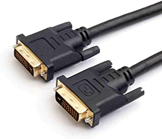 SIZOO - Computer Cables & Connectors - Black Color DVI-D Dual-Link(24+1) Male to Male Digital Video Cable for Graphics Vid...