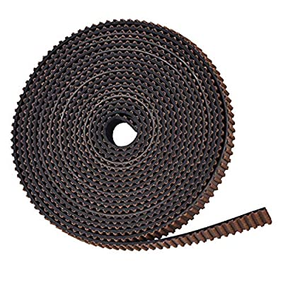 GT2 Timing Belt 6mm Width 2mm Pitch Glass Fibre Pull Strin Wear-resistant Rubber Tooth Surface for 3D Printers Prusa i3 Anet A8 A6 Anycubic i3 Mega Creality Ender 3/5-2M