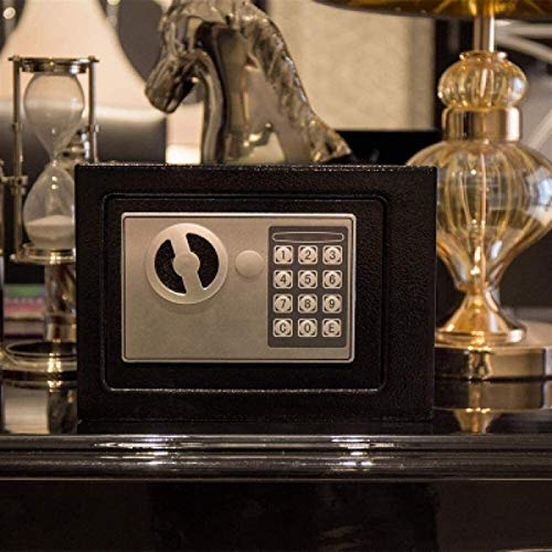 XHMCDZ Cajas Fuertes del gabinete Home Safe Grande electrónica Digital for la joyería Dinero Seguro Cash Passport de Seguridad