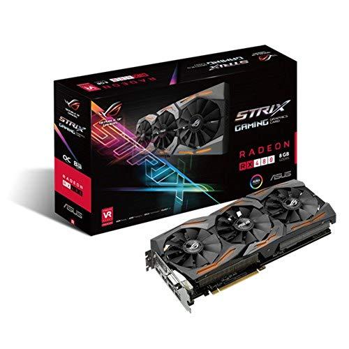 {ASUS R.O.G. STRIXシリーズ AMD Radeon RX480搭載ビデオカード STRIX-RX480-O8G-GAMING}