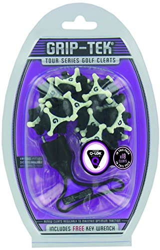 Champ ? grip-tek Tour Series Golf Cleats (Tri lok-18 Stollen) inklusive gratis wrench-q Lok