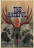 DUANQIAN Leinwand Poster The Hateful Eight Filmplakat Bar