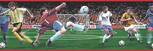 Fußball Tapete Bordüre b74884