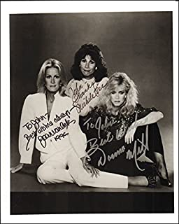 Knots Landing TV Cast - Inscribed Photograph Signed with co-signers