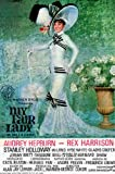 My Fair Lady Film Poster Audrey Hepburn