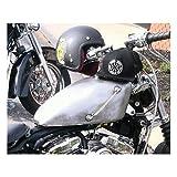 Harley Old School - Kit de tubo indicador de nivel de gasolina externo para moto Harley Davidson Custom Fuel Sight