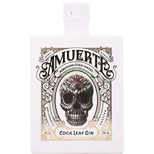Amuerte COCA LEAF GIN White Edition 43,00% 0,70 Liter